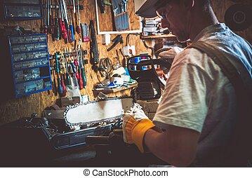 Wood Cutter Tool Repair