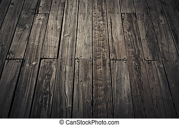 Wood Deck Background