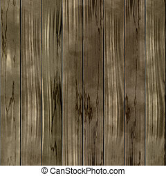 Wood fence seamless generated hires texture