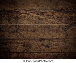 Wood Floor Background - old brown Wood Floor texture