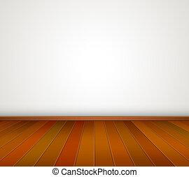 wood floor wood floor empty white room with wooden floor and brick wall