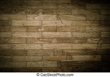 wood floor pattern texture weathered with dark vignette effect