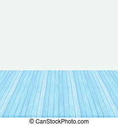 Wood floor pink pastel colour perspective on gray background.
