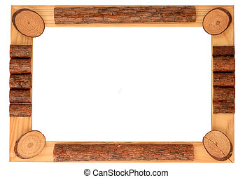 wood frame and border