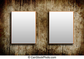 wood frame background