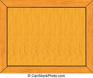 Wood frame ,vector