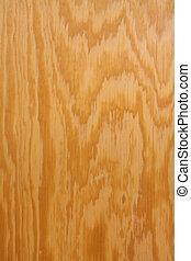 Wood grain on plywood vertical - Honey-colored wood grain on...