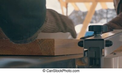 Wood grinding polishing machine