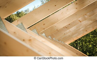 House Roof Beams