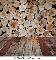 wood Industrial background - timber wood Industrial texture...