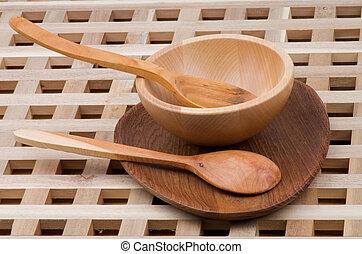 Wood Kitchen Utensil