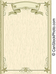 Wood old style background - A poster with a wood texture for...