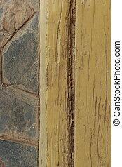 Wood old texture stone granite