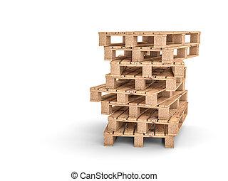 Wood pallet Stock Illustrations. 1,828 Wood pallet clip ...