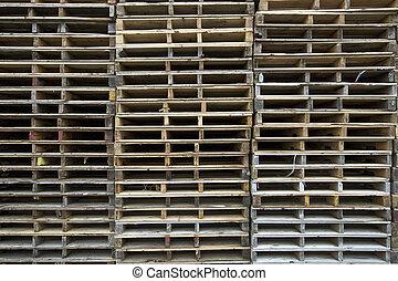 Wood Pallets Background 2