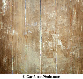 wood panel background.