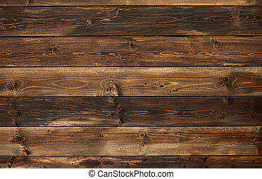wood panel - the brown old wood texture with knot