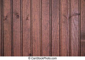 Wood Paneling - Dark wood paneling background