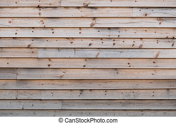 Wood paneling - Weathered, natural softwood wall texture, ...