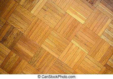 Wood parquet floor