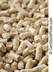 Wood Pellets - Alternative fuel. Wood pellets made from ...