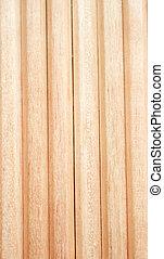 Wood pencil textured