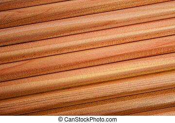 Wood pencils texture