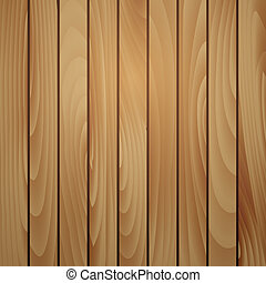 Wood plank brown texture background. Vector illustration