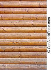 Wood plank wall