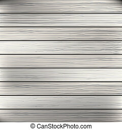 Wood plank white, grey texture background. Vector