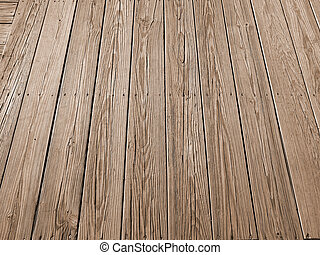 Wood Planks - This is a detailed background shot of some...
