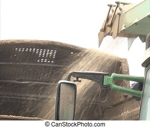 wood sawdust chip trailer - wood branches shavings sawdust...