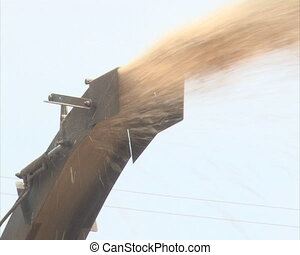 wood sawdust chips pipe