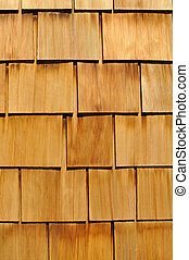 Wood Shingle Background - Wood Textured Shingle Background