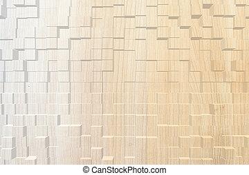 Wood texture, 3d block style