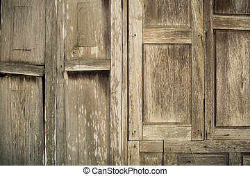 wood texture. background old wooden house