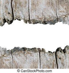 Wood texture background with isolated copyspace for wording