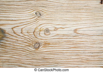 Wood texture - Close-up of a veined wood with knots
