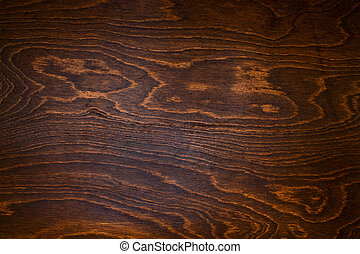 wood texture of dark brown color close up