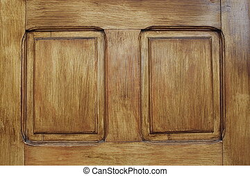 wood texture on a door