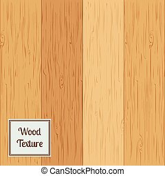Wood texture set. Vector illustration.