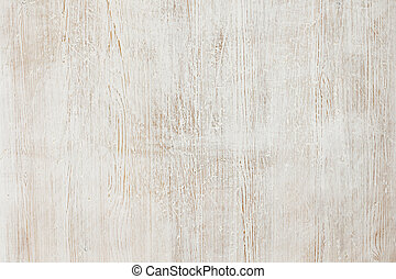 Wood texture - Wood painted white, worn and scratched...
