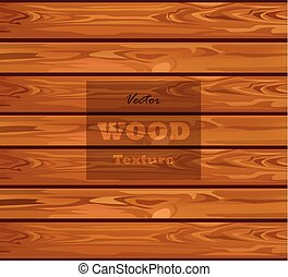Wood texture Vector realistic