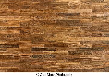 Wood texture - walnut parquet floor