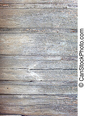 Wood texture - Wheathered planks, light grey colour paint is...