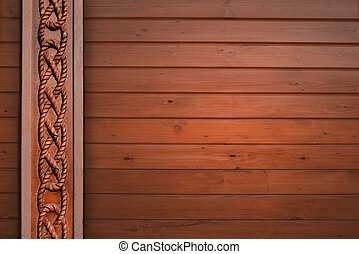 wood texture with vertical relief pattern
