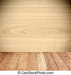 Wood texture with wood floor in the room