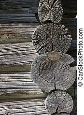 Wood textured background.
