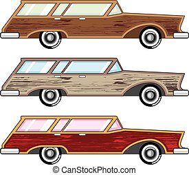 wood trim station wagon