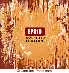 Wood vector illustrated background